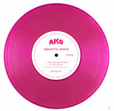"""Immortal Minds - No More Mind Games / Lost In Love - 10"""" Colored Vinyl"""