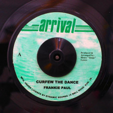 "Frankie Paul - Curfew The Dance - 7"" Vinyl"