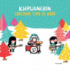 "Khruangbin - Christmas Time Is Here - 7"" Colored Vinyl"