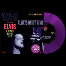 "Danzig - Always On My Mind - 7"" Colored Vinyl"