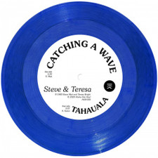 "Steve & Teresa - Catching A Wave - 7"" Colored Vinyl"