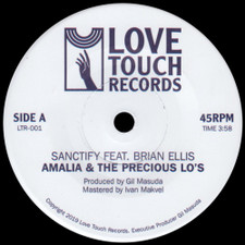 "Amalia & The Precious Lo's - Sanctify - 7"" Vinyl"