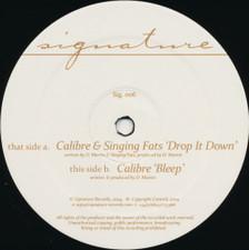 """Calibre & Singing Fats - Drop It Down / Bleep - 12"""" Vinyl"""