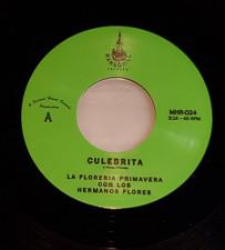 """La Floreria Primavera Con Los Hermanos Flores - Culebrita / La Primera Rosa - 7"""" Vinyl"""