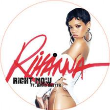 """Rihanna - Right Now Remixes - 12"""" Vinyl"""