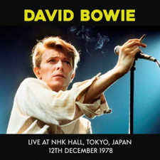 David Bowie - Live At NHK Hall, Tokyo, Japan 12th December 1978 - LP Vinyl
