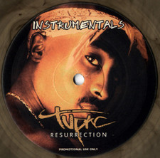 2Pac - Resurrection (Instrumentals) - LP Vinyl