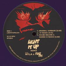 "Major Lazer - Light It Up (Remixes) - 12"" Vinyl"