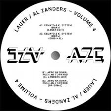 """Lauer / Al Zanders - A7 Edits Vol. 4 - 12"""" Vinyl"""