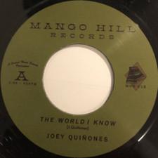 "Joey Quinones - The World I Know (original version) - 7"" Vinyl"