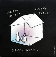 "Ariana Grande & Justin Bieber - Stuck With U (Glow) - 7"" Vinyl"