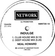 "Neal Howard - Indulge - 12"" Vinyl"
