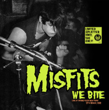 Misfits - We Bite (Live At Irving Plaza, New York 27th March 1982) - LP Colored Vinyl