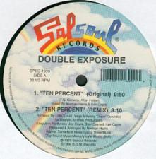 """Double Exposure - Ten Percent / My Love Is Free - 12"""" Vinyl"""