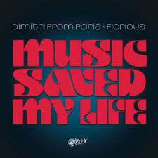 "Dimitri From Paris x Fiorious - Music Saved My Life - 12"" Vinyl"