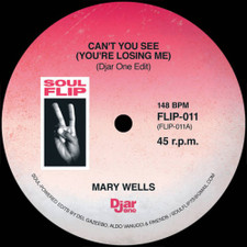 "Mary Wells / The Astors - Can't You See / Uncle Willie Good Time (Djar One Edits) - 7"" Vinyl"