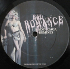 "Lady Gaga - Bad Romance (Remixes) - 12"" Vinyl"