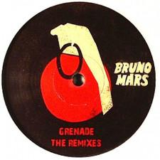 """Bruno Mars - Grenade (The Remixes) - 12"""" Vinyl"""