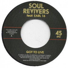 "Soul Revivers - Got To Live - 7"" Vinyl"