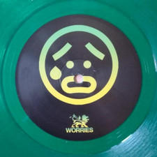 "Unknown Artist - Worries / Bam! Bam! - 10"" Colored Vinyl"