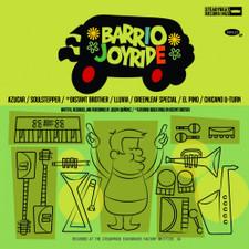 Saucy Horn - Barrio Joyride - LP Vinyl