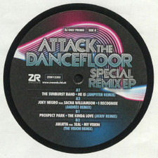 "Various Artists - Attack The Dancefloor Special Remix Ep - 12"" Vinyl"