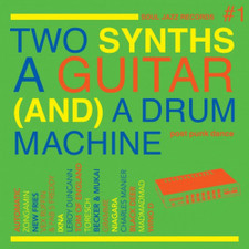 Various Artists - Two Synths A Guitar (And) A Drum Machine #1 - 2x LP Colored Vinyl