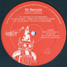 "Mr Barcode - The Rise Of The Machines - 12"" Vinyl"
