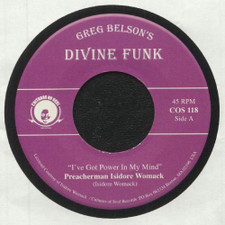 """Preacherman Isidore Womack / Allen Gauff Jr - I've Got Power In My Mind / I Don't Want To Be Alone - 7"""" Vinyl"""