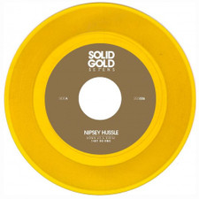 """Nipsey Hussle - Down As A Great (14kt OG Remix) - 7"""" Colored Vinyl"""