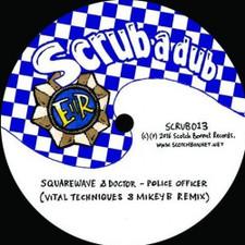 "Squarewave / Mungo's Hi-Fi - Police Officer / Boomsound (Vital Techniques & Mikey B Remixes) - 12"" Vinyl"