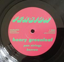 "Henry Greenleaf - Rush Ep - 12"" Vinyl"