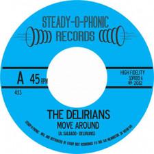 """The Delirians - Move Around - 7"""" Vinyl"""
