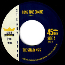 "The Steady 45's - Long Time Coming / Pressure - 7"" Vinyl"