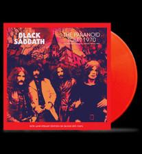 Black Sabbath - The Paranoid Tour 1970 - LP Colored Vinyl