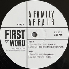 """Various Artists - A Family Affair - 12"""" Vinyl"""