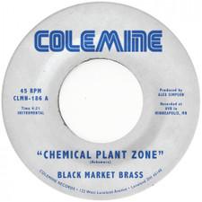 "Black Market Brass - Chemical Plant Zone / Sagat Theme - 7"" Vinyl"