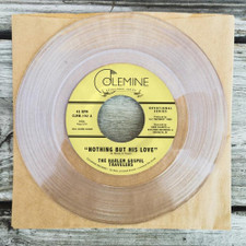 """The Harlem Gospel Travellers - Nothing But His Love - 7"""" Clear Vinyl"""