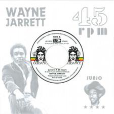 "Wayne Jarrett - Love In A Mi Heart - 7"" Vinyl"