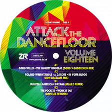 "Various Artists - Attack The Dancefloor Vol. 18 - 12"" Vinyl"
