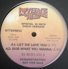 """Loveface - De-Mixes Vol. 4 - 12"""" Vinyl"""