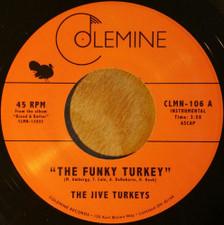 "The Jive Turkeys - The Funky Turkey/Funky Brewster - 7"" Vinyl"