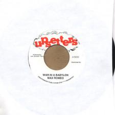 "Max Romeo - War In A Babylon - 7"" Vinyl"