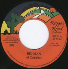 """Al Campbell - Big Man - 7"""" Vinyl"""