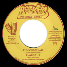 "Blacka T - Run Come Yah - 7"" Vinyl"