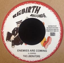 "The Liberators - Enemies Are Coming - 7"" Vinyl"