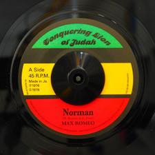 "Max Romeo / The Upsetters - Norman - 7"" Vinyl"
