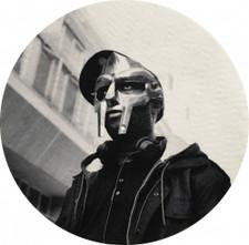 MF Doom - Black & White Portrait - Single Slipmat