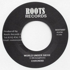 """Chronixx - World Under Siege - 7"""" Vinyl"""