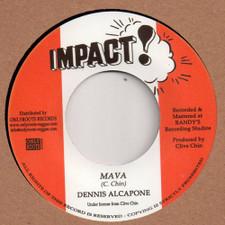 "Dennis Alcapone / Impact All Stars - Mava - 7"" Vinyl"